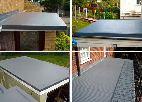 Examples of our domestic roof installations