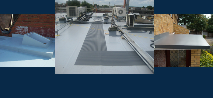 High tech flat roof solutions